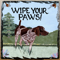 German Shorthaired Pointer Slate Sign