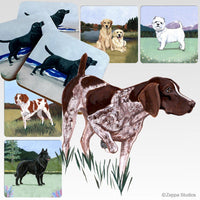 German Shorthaired Pointer Scenic Coaster