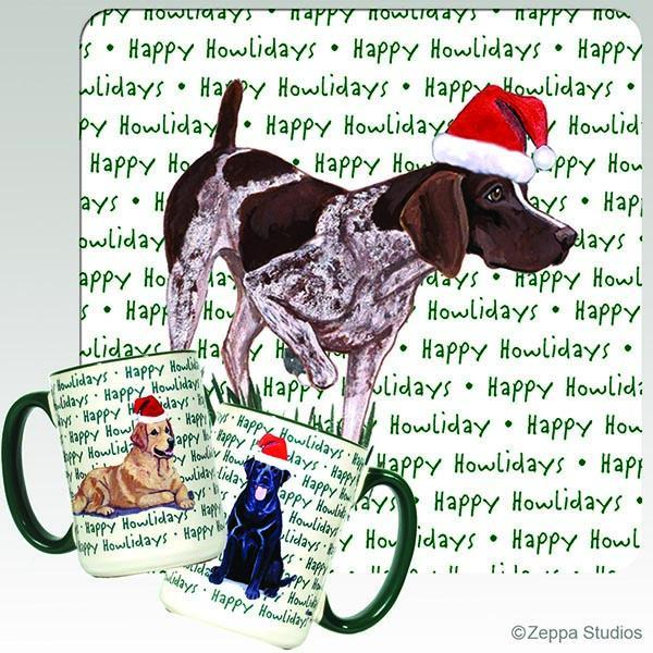 German Shorthaired Pointer Holiday Mug