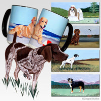 German Shorthaired Pointer Scenic Mug
