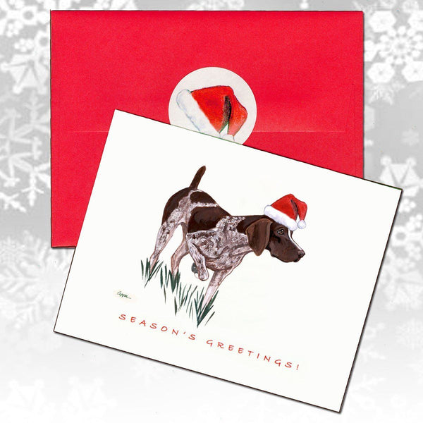 German Shorthaired Pointer Christmas Note Cards