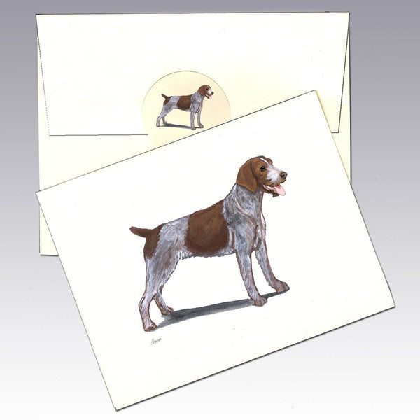 German Wirehair Pointer Note Cards