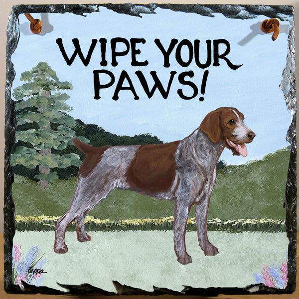 German Wirehaired Pointer Slate Sign
