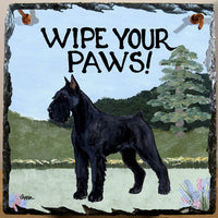 Giant Schnauzer Slate Sign