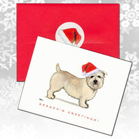Glen of Imaal Terrier Christmas Note Cards