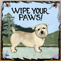 Glen of Imaal Terrier Slate Sign