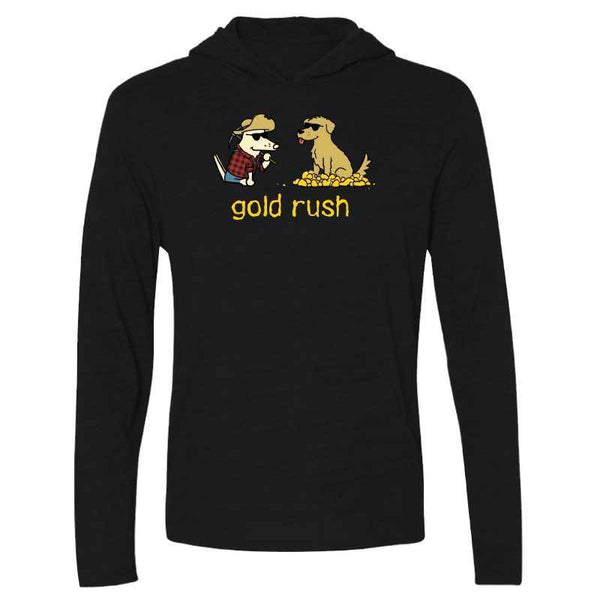 Teddy's Gold Rush - Long-Sleeve Hoodie Shirt