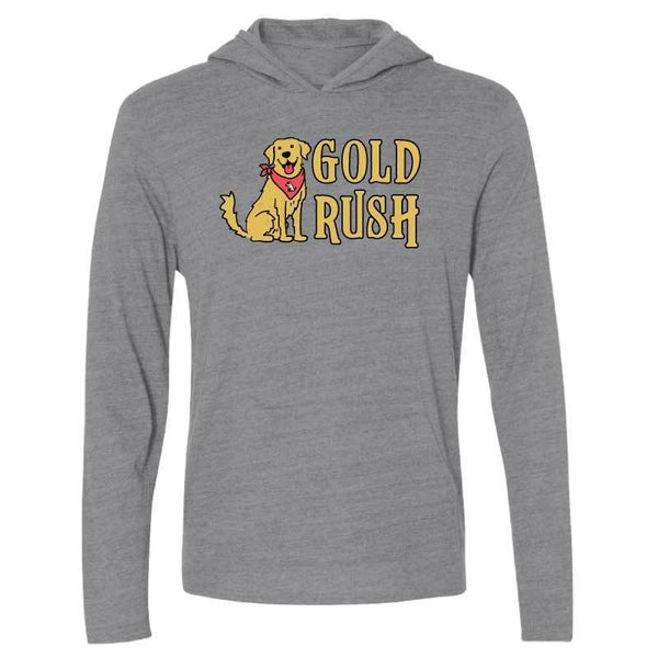 Gold Rush - Long-Sleeve Hoodie Shirt