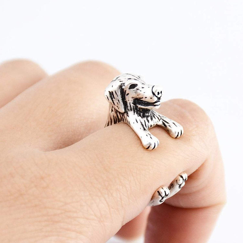 Golden Retriever Wrap Ring