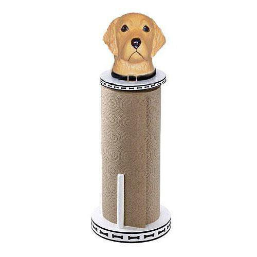 Golden Retriever Paper Towel Holder