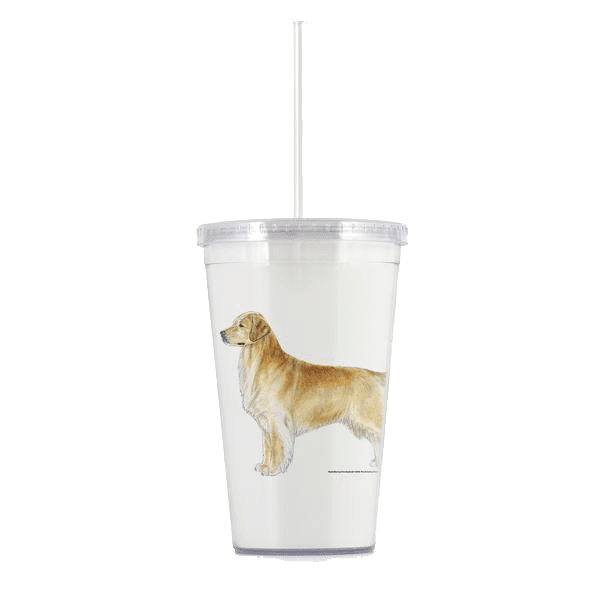 Golden Retriever Beverage Tumbler