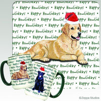 Golden Retriever Holiday Mug