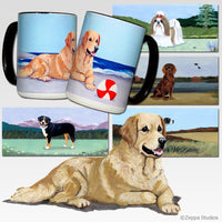 Golden Retriever Scenic Mug
