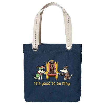 It's Good To Be King  - Canvas Tote