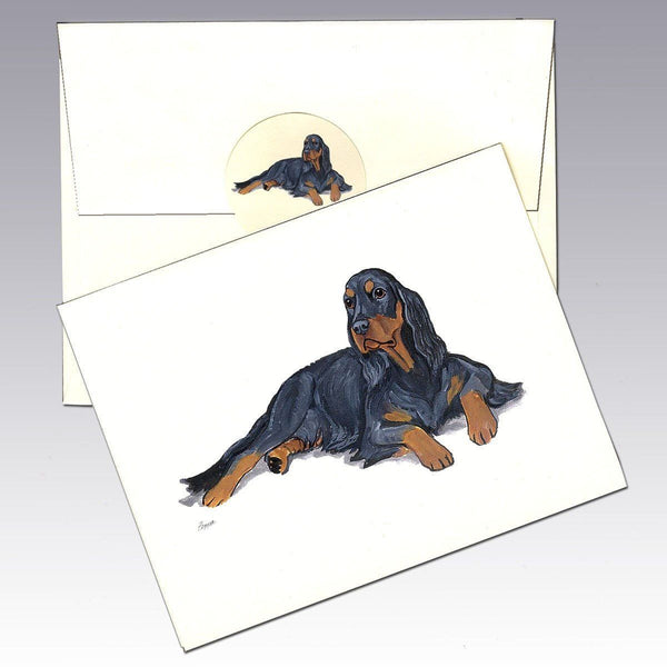 Gordon Setter Note Cards