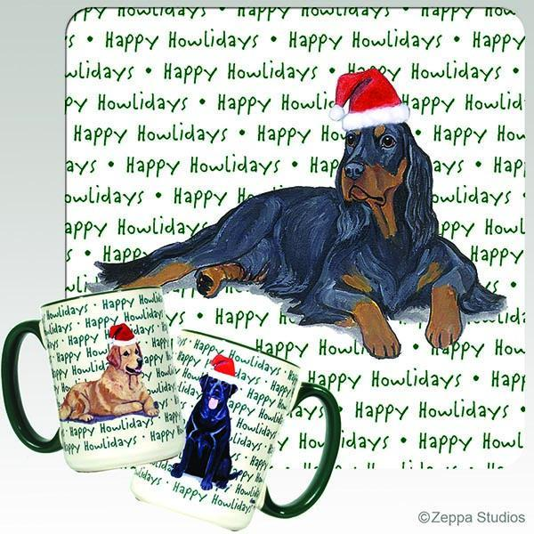 Gordon Setter Holiday Mug