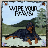 Gordon Setter Slate Sign