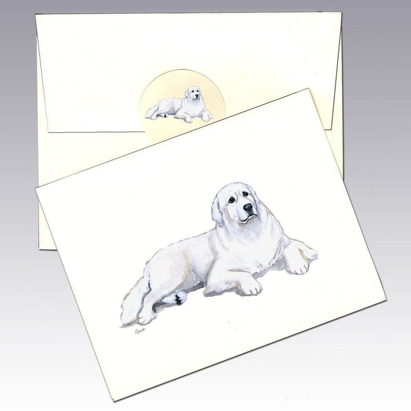 Great Pyrenese Note Cards