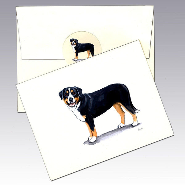 Greater Swiss Mountain Dog Note Cards