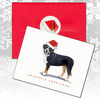 Greater Swiss Mountain Dog Christmas Note Cards