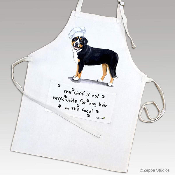 Greater Swiss Mountain Dog Apron