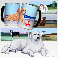 Great Pyrenees Scenic Mug