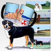 Greater Swiss Mountain Dog Scenic Mug