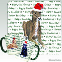 Greyhound Holiday Mug