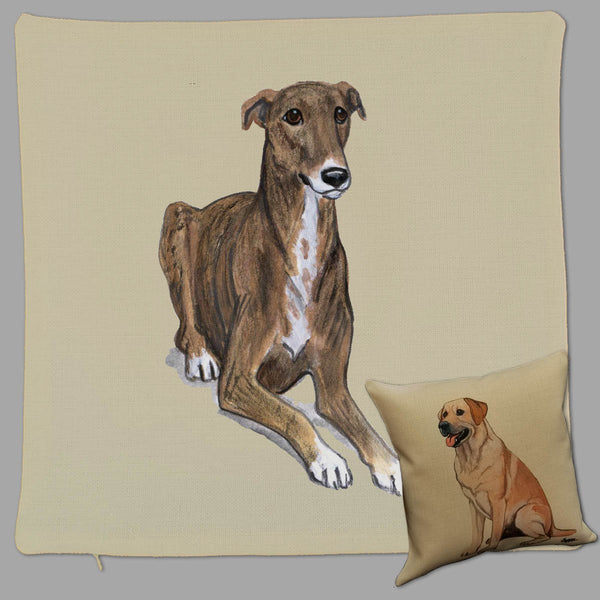 Greyhound Pillow Cover