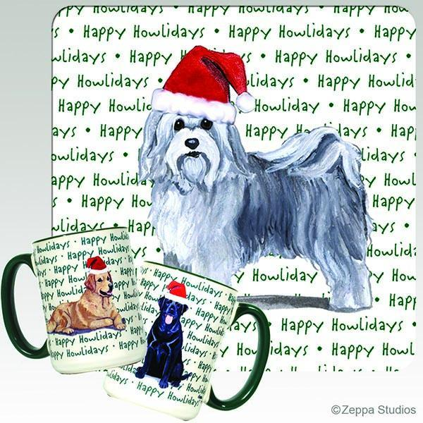 Havanese Holiday Mug