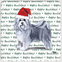 "Havanese ""Happy Howlidays"" Coaster"