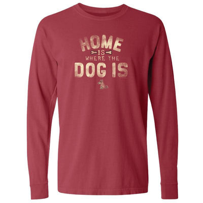 Home is Where the Dog T-Shirt - Long-Sleeve T-Shirt Classic