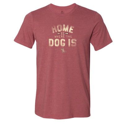 Home Is Where the Dog Is - T-Shirt Lightweight Blend