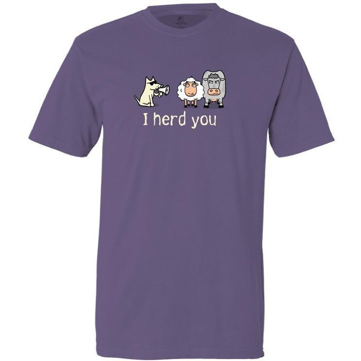 i herd you garment dyed classic t-shirt