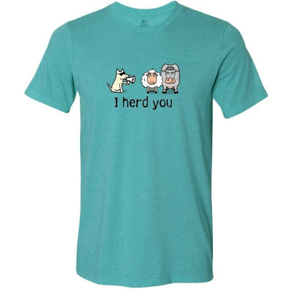 i herd you lightweight t-shirt
