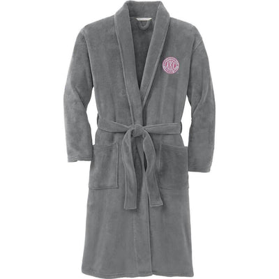 AKC Breast Cancer Awareness Plush Microfleece Robe