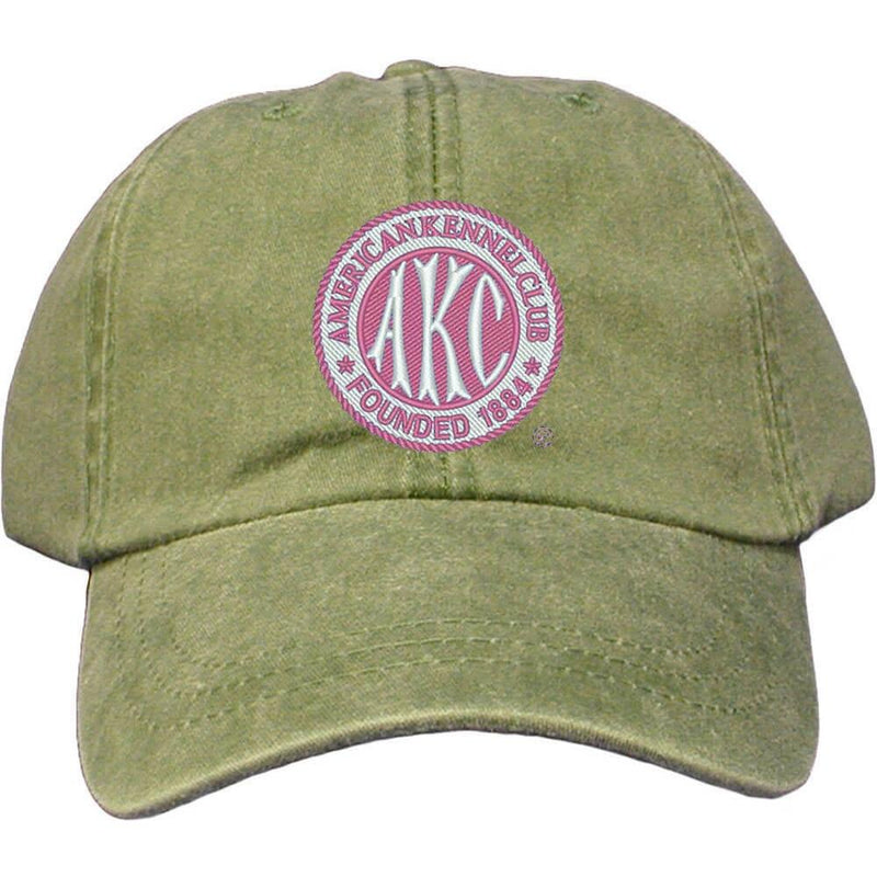 AKC Breast Cancer Awareness Embroidered Baseball Cap