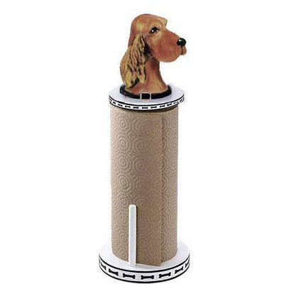 Irish Setter Paper Towel Holder
