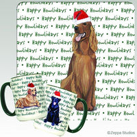 Irish Setter Holiday Mug