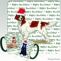 Irish Red and White Setter Holiday Mug