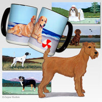 Irish Terrier Scenic Mug