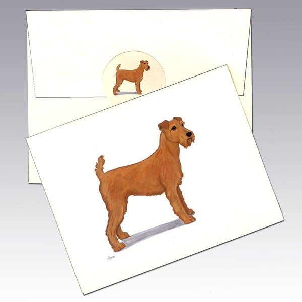Irish Terrier Note Cards