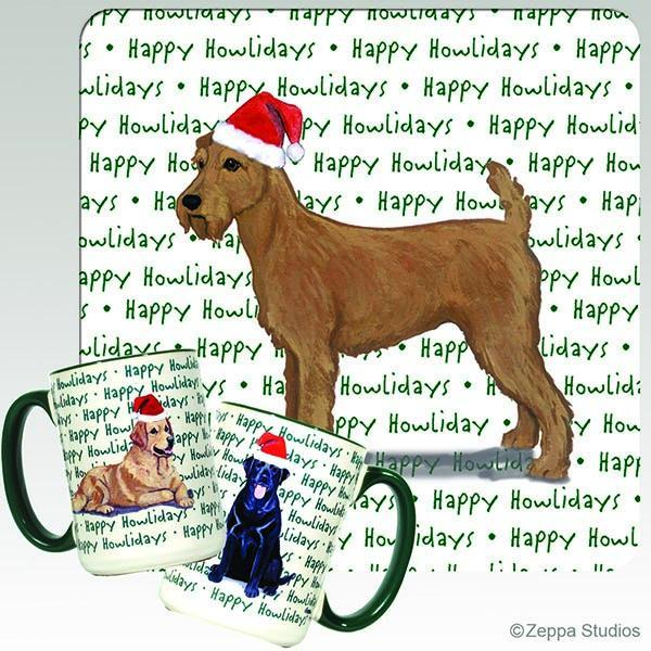 Irish Terrier Holiday Mug