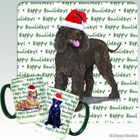 Irish Water Spaniel Holiday Mug