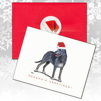 Irish Wolfhound Christmas Note Cards