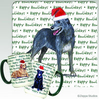 Irish Wolfhound Holiday Mug