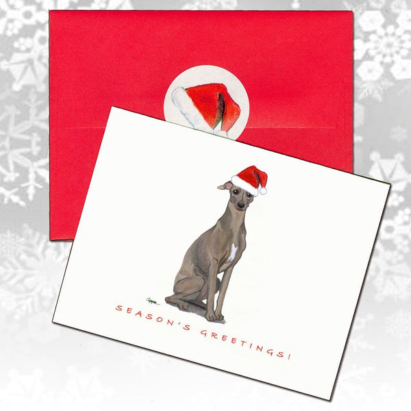 Italian Greyhound Christmas Note Cards