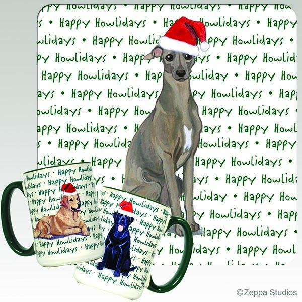 Italian Greyhound Holiday Mug