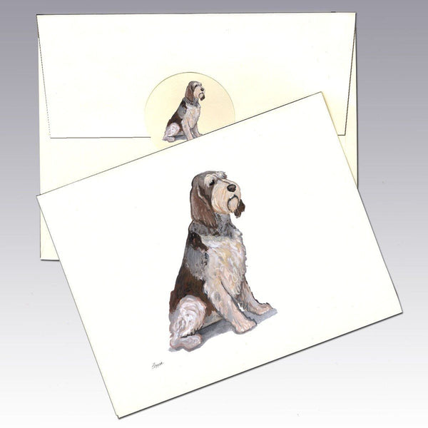 Italian Spinone Note Cards
