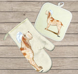 Spinone Italiano Oven Mitt and Pot Holder